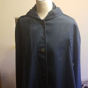Vintage Sharpee Trench Coat with hood